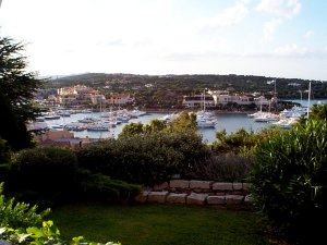 The view at Porto Cervo