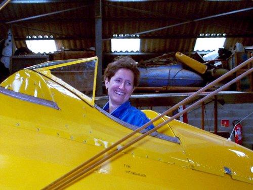 Helene in her dream machine