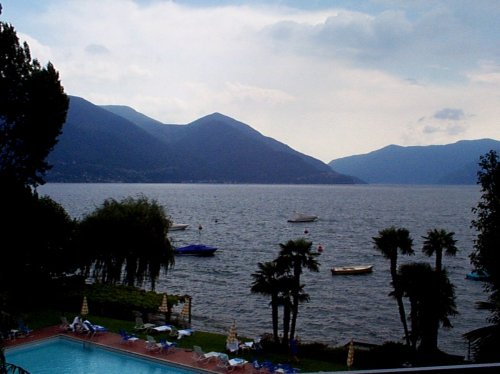 View from the room, Ascona, Switzerland