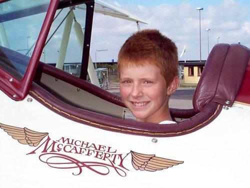 Christian, Future Aviator