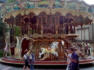 Carousel, Rheims city center