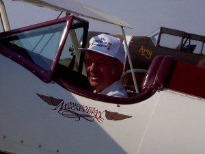 Tony Errington, with N250YM
