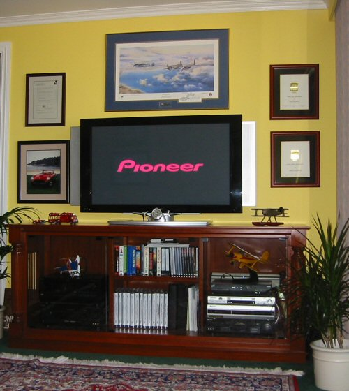 Entertainment Center, HDTV, Custom Cabinet, etc