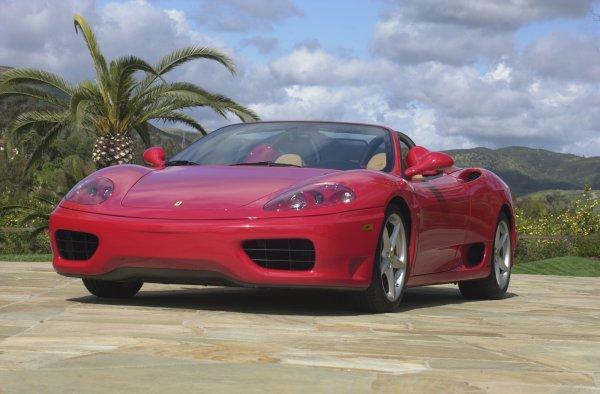 Ferrari 360 Modena Spider - first in California!