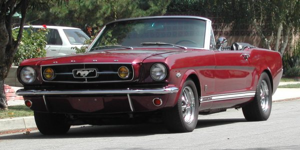 1965 Mustang Convertible K-code (Hi-Performance)