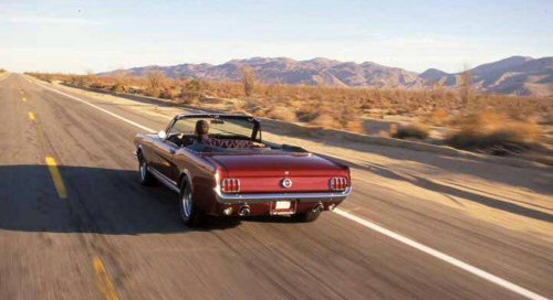 1965 Mustang Convertible, K-code (Hi Performance)