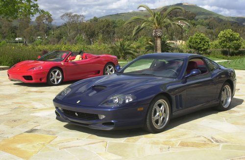 Ferrari 550 Maranello and 360 Modena Spider